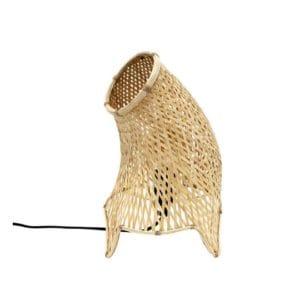 Bambusowa Lampa Stołowa-0